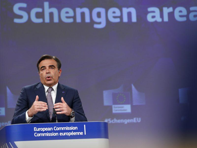 Margaritis Schinas will den Rahmen für Schengen erneuern